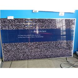 """65"""" SAMSUNG 4K SUHD SMART TV - MODEL UN65JS8500F - DISPLAY ISSUE"""