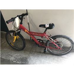 RED CCM XT 600S CHILDS MOUNTAIN BIKE