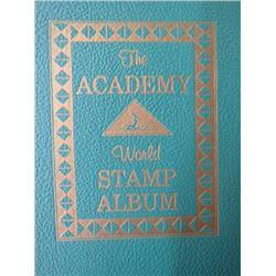 STAMP ALBUM (THE ACADEMY WORLD) *1961*