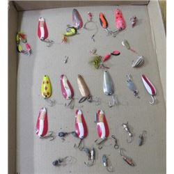 FISHING LURES (VINTAGE) *OVER 20* (SOME NEW)