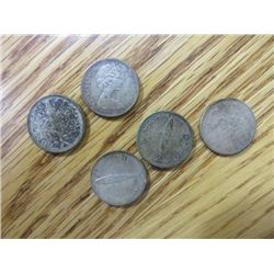 CNDN CENTENNIAL DIMES (COMMEMORATING 1867-1967) *QTY 24*