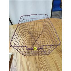 WINE SHOPPING BASKET (METAL)