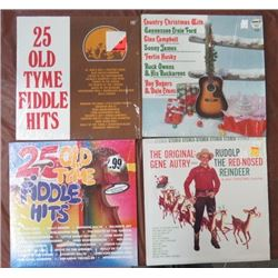 ALBUMS (CHRISTMAS & FIDDLE LOTS) *QTY 3*