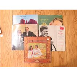 ALBUMS (IRVING BERLIN, JACK KENNEDY, ETC) *QTY 5*