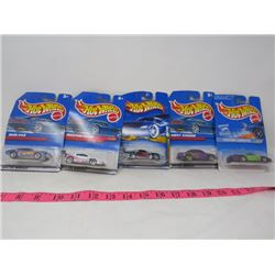 HOTWHEELS (ORIGINAL PACKAGING) *QTY 5*