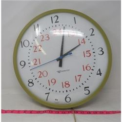 WALL CLOCK (EDWARDS INSTITUTIONAL)