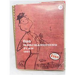 MERCHANDISING PLAN BOOK (1957) & LOT OF GREETING CARDS (1950) *BIRTHDAY, ETC*