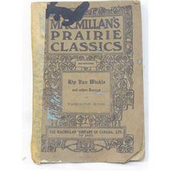 """RIP VAN WINKLE""  (BY WASHINGTON IRVING) *COPYRIGHT 1909*"