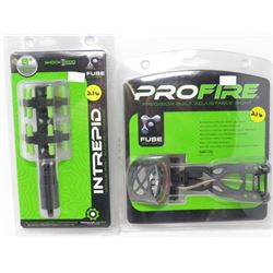 LOT OF 2 ARCHERY ACCESSORIES 'PROFIRE & INTREPID'