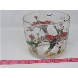 LARGE PHEASANT GLASS
