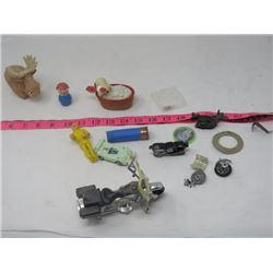 LOT OF TOYS, ETC (SNOOP FRICTION CHIPS MOTORCYCLE, ETC)