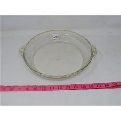 PIE PLATE (PYREX) *FLUTED*