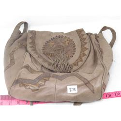 LADIES SHOULDER BAG (VIVA OF CALIFORNIA) *LEATHER*