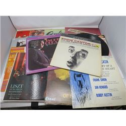 LP RECORDS (QTY 18) 'JACKIE GLEASON, JOHNNY CASH, DON WILLIAMS, ETC'