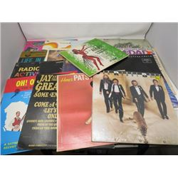 LP RECORDS (QTY 17) 'PATSY CLINE, JAY & THE AMERICANS, OAKRIDGE BO7YS, ETC'