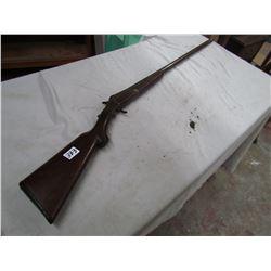 12 GAUGE SHOT GUN (SINGLE SHOT) *SIMMONS - CANNON BREECH* (1803) *TRIGGER GUARD MISSING*
