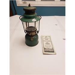COLEMAN LAMP SPORT-LIGHT (242B) *C/W DIRECTIONS*