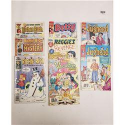 RICHIE RICH & ARCHIE COMICS (QTY 8)