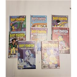 BART SIMPSON COMICS (QTY 8)
