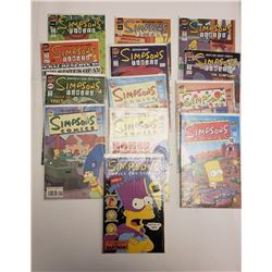 SIMPSONS COMICS (QTY 13)
