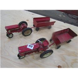 TRACTORS & WAGONS (FARMALL 404) *QTY 2 EACH*