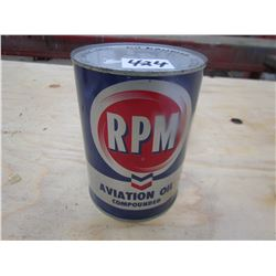 RPM AVIATION OIL *FULL* (1 QT)