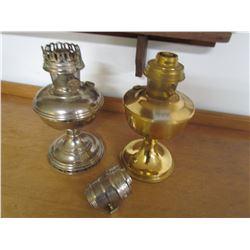 2 ALLADIN LAMPS & BURNER