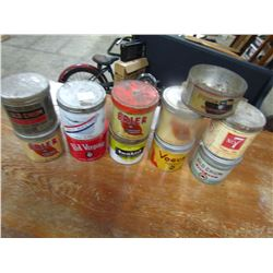LOT OF 11 TOBACCO TINS (ASSORTED)