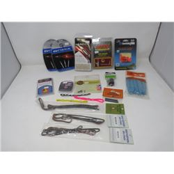 LOT OF 17 ARCHERY ACCESSORIES (GFORCE, LAUNCH PAD, S WHACKERS)