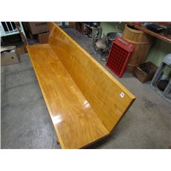 BENCH (HUTTERITE) *6 FT, HOME MADE*