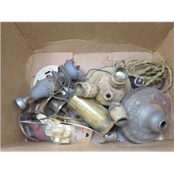 LOT OF ELECTRICAL VINTAGE PARTS