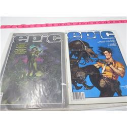 2 MAGAZINES (EPIC ILLUSTRATED) *1983, 1985*