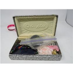 JEWELERY BOX (GLO-HILL) *W/COSTUME JEWELLERY*