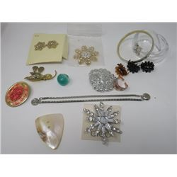 LOT OF COSTUME JEWELERY (OVER 10 PCS)