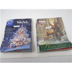 LOT OF 2 CATALOUGS (SEARS) *CHRISTMAS WISH 2003 & 2006*