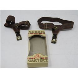 STOCKING GARTERS (MENS) *CURRIE* (IN PACKAGE)