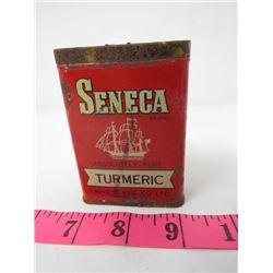 SPICE TIN (SENECA) *TUMERIC*