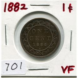 1882 CNDN LARGE 1 CENT PC