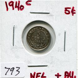 1940 NFL 5 CENT PC