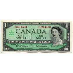 1967 CNDN (CENTENNIAL) 1 DOLLAR NOTE