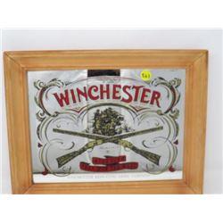 "FRAMED WINCHESTER MIRROR (11"" X 13"")"