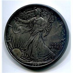 1993 USA SILVER EAGLE DOLLAR