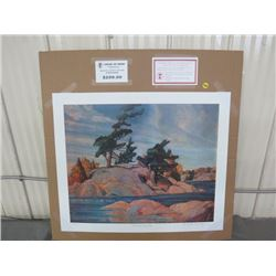 "LIMITED PRINT 'ISLAND GEORGIAN BAY' (BY FRANKLIN CARMICHAEL) *205/777* (23"" X 18.5"")"