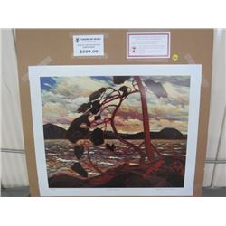 "LIMITED PRINT 'WEST WIND' (BY TOM THOMSON) *392/777* (23"" X 18.5"")"