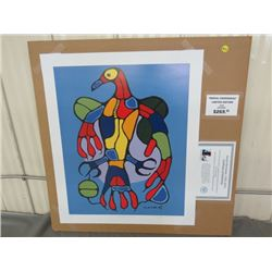 "LIMITED PRINT 'ASTRAL THUNDERBIRD' (BY NORVAL MORRISSEAU) *28/950* (18.5"" X 23"")"