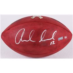 "Andrew Luck Signed ""Salute to Service"" Official NFL Game Ball Limited Edition #1/50 (Panini COA)"