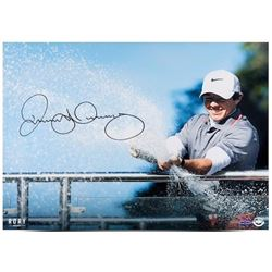 "Rory McIlroy Signed ""Spray Of Victory"" 16x20 Photo (UDA COA)"