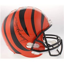 Anthony Munoz Signed Cincinnati Bengals Full-Size Helmet (Schwartz COA)
