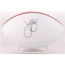 Katy Perry Signed NFL Football (PSA COA)
