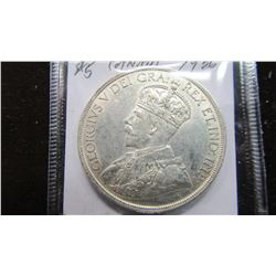 1936 CANADA KING GEORGE V SILVER DOLLAR